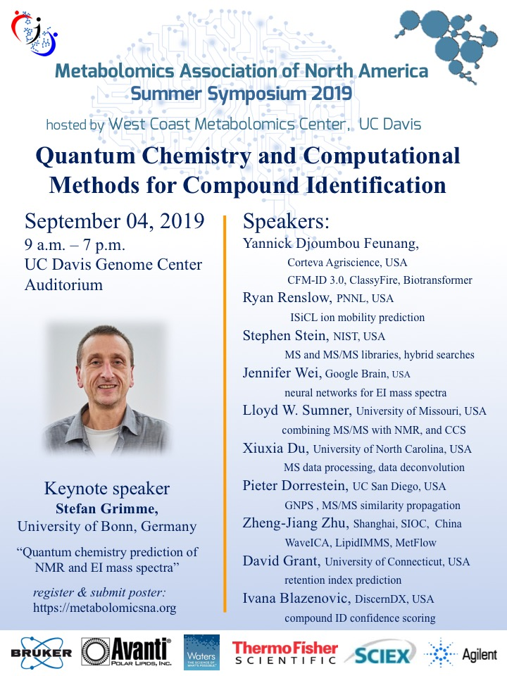 Flyer Quantum Chemistry and Computational Methods for Compound Identification MANA 05 2019